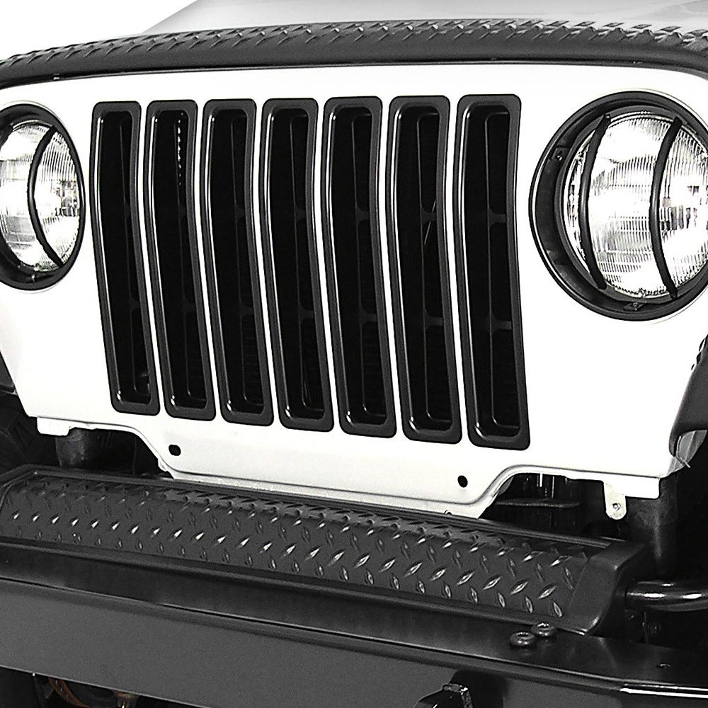 Jeep Wrangler Grille Inserts: Outland Automotive® 391130603