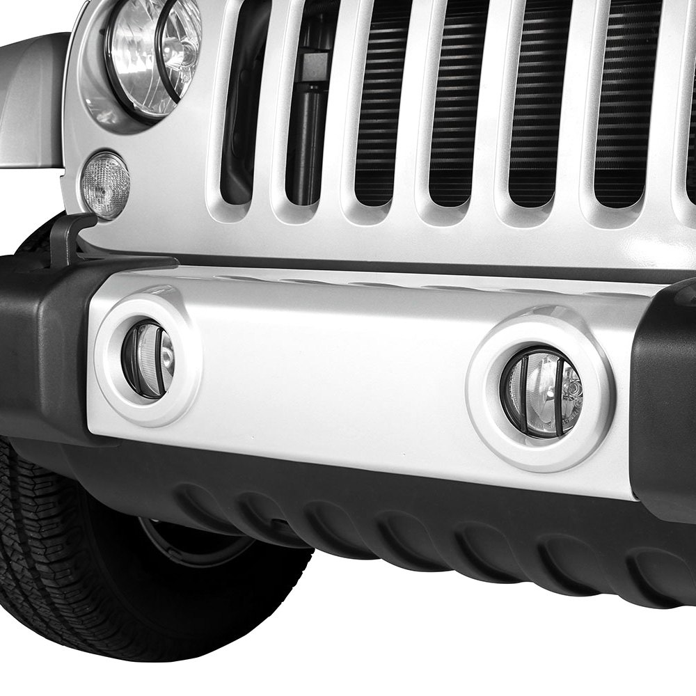 Outland 391123113 Black Euro Fog Light Guard For Jeep Jk Wrangler Lights