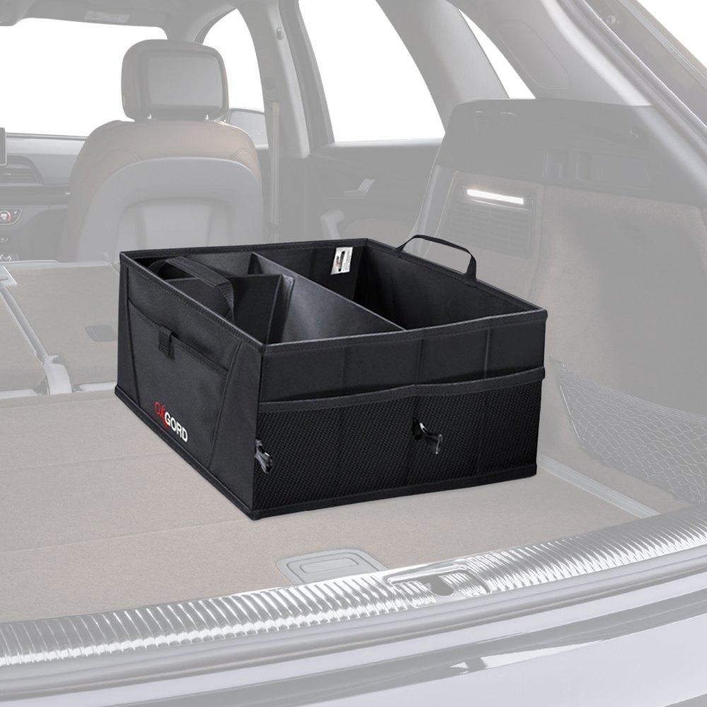 OxGord® HGTB-02 - Black Trunk Organizer Caddy