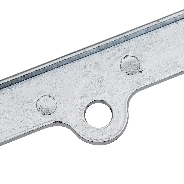 OxGord® LFZN-04 - Diamond Chrome License Plate Frame