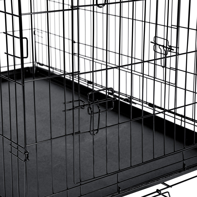 OxGord® PTCG01-42 - Pet Crate Folding Wire Kennel Playpen