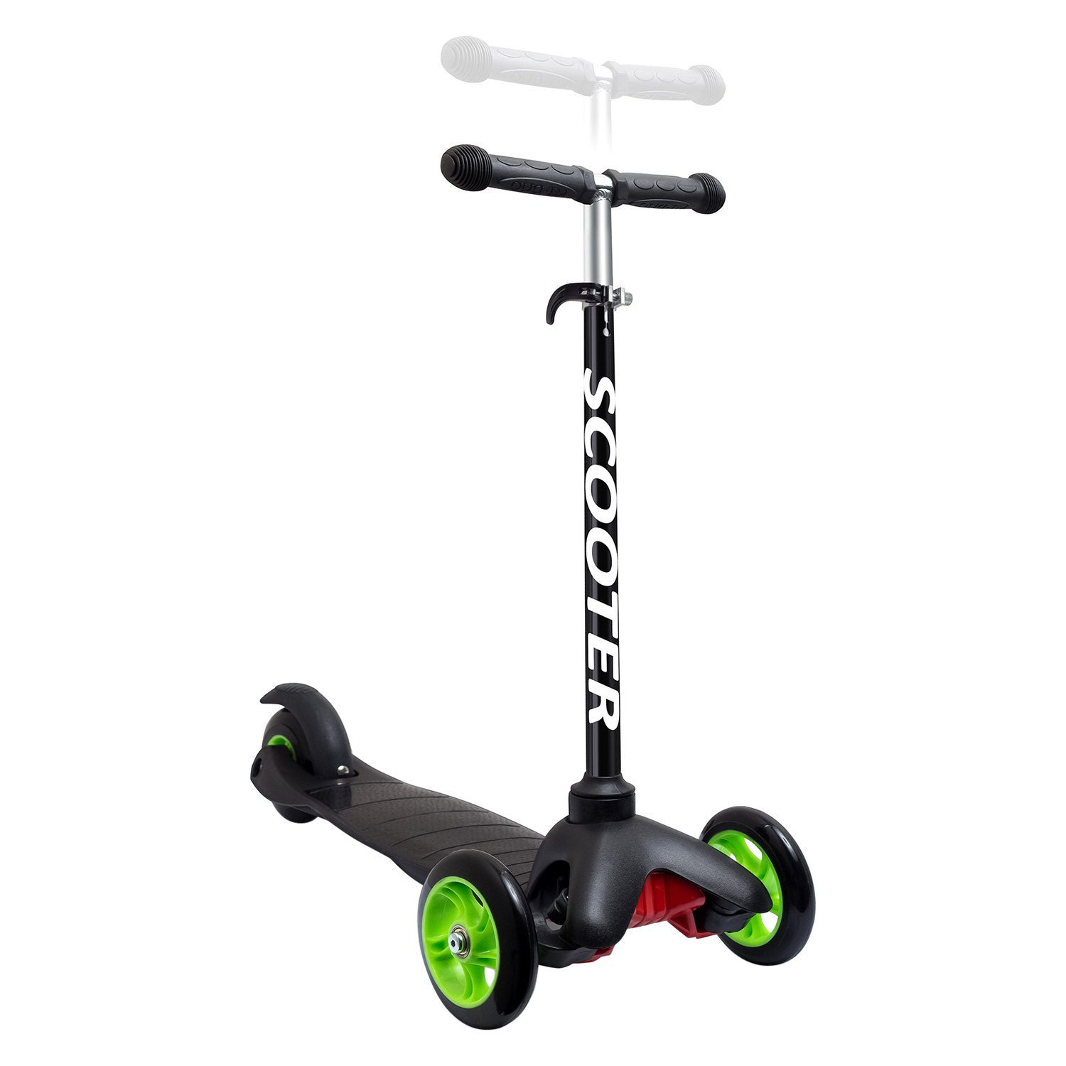 Oxgord sctr 01 bk kids scooter deluxe 3 wheel glider for Garage scooter 95