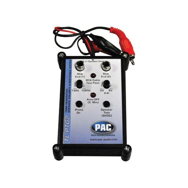 Speaker Polarity Checker : Pac tlptg tone generator and speaker polarity tester