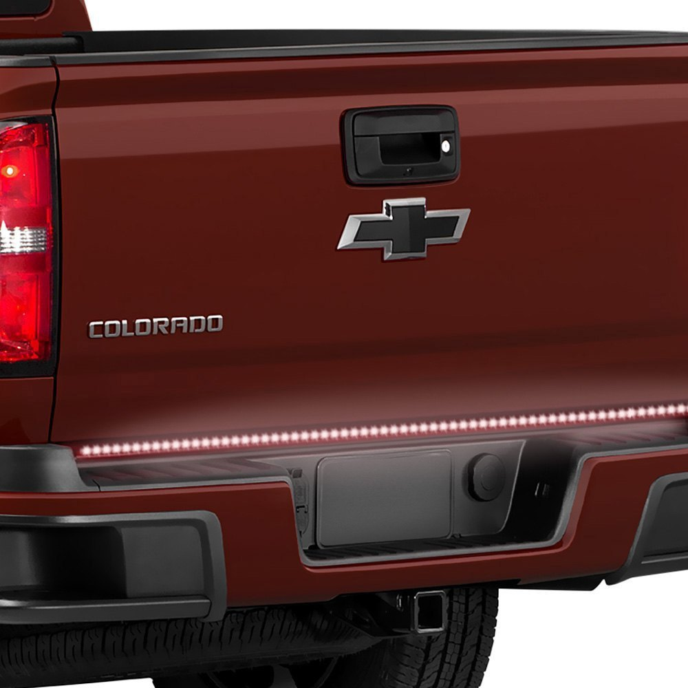 Pacer performance 20 803 60 outback f5 led tailgate light bar pacer performance 60 outback f5 led tailgate light bar with amber turn signal aloadofball Image collections
