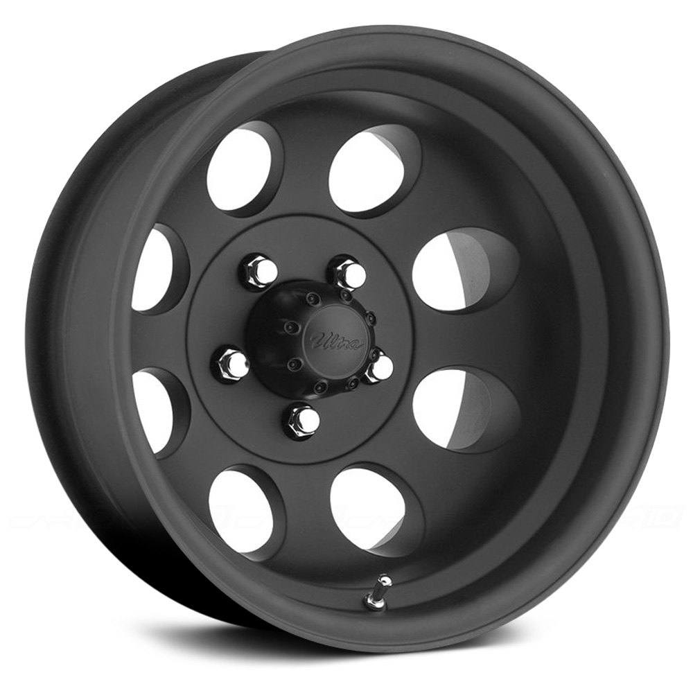 Pacer 174 164b Lt Mod Wheels Matte Black Rims