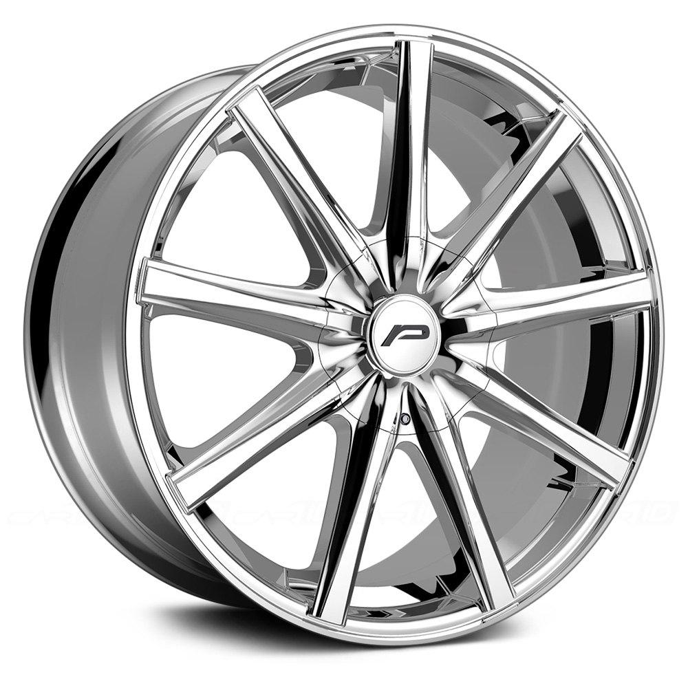 Pacer 174 789c Evolve Wheels Chrome Rims