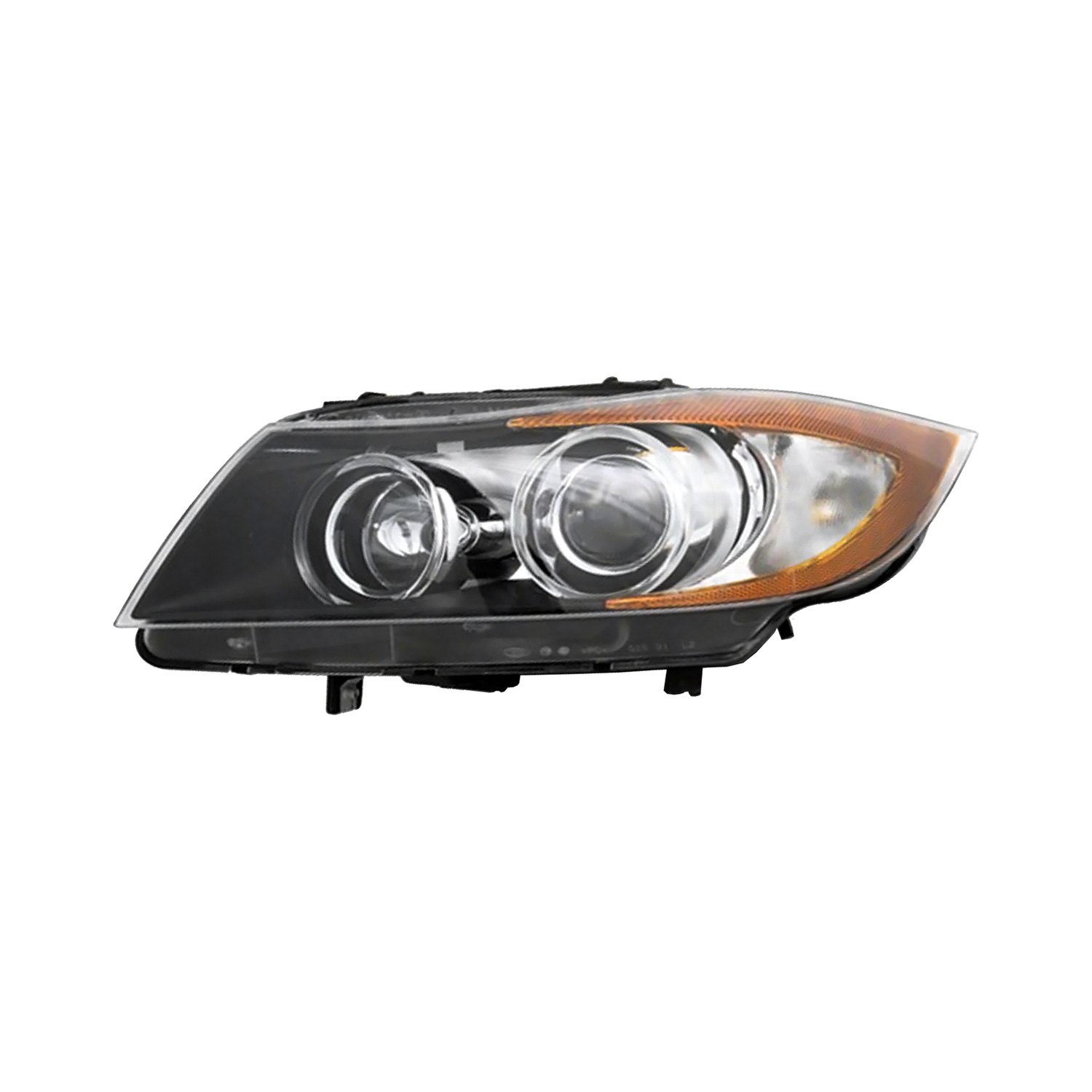 Pacific Best® - Replacement Headlight Lens and Housing