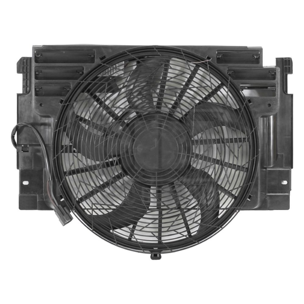 64546921381 AC A//C CONDENSER COOLING FAN FOR BMW FITS X5 2000-2006 BM3020102