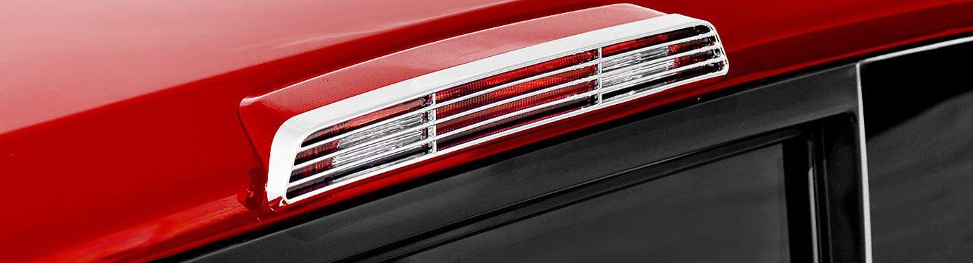 Third Brake Light Covers : Chevy silverado rd brake light covers bezels