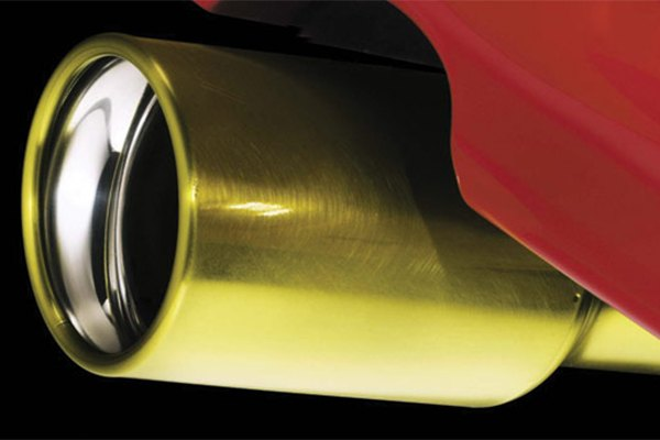 Exhaust Tip Painted With Dupli Color Paint