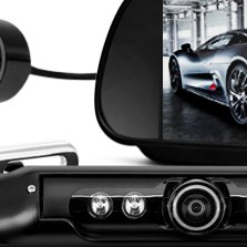 Top Car Mount 180 Degree Night Vision Color Camera