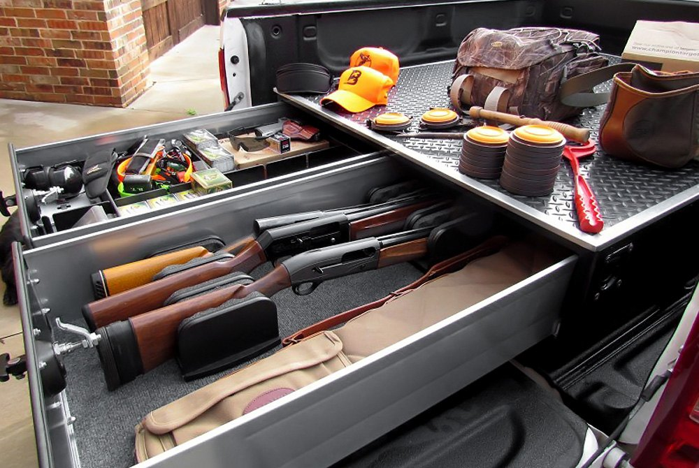 truck bed organizers drawer systems cargo bars pockets carriers. Black Bedroom Furniture Sets. Home Design Ideas
