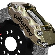 Wilwood® - W6A WCCB Carbon-Ceramic Big Brake Front Brake Kit
