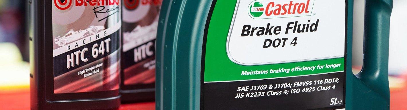 Brake Fluids & Lubricants | DOT 3, 4 & 5 1, Silicone