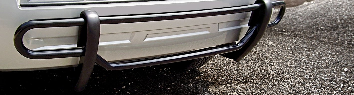 Chevy Bumper Guards Front Rear Black Polished Carid Com