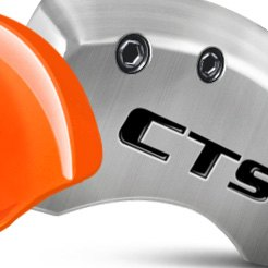 Custom Caliper Covers with Cadillac CTS Logo
