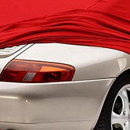 Form Fit Red Car Cover