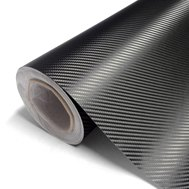 3M Scotchprint Black Carbon Fiber Wrap Film
