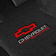Carpet Mat with Embroidered Chevrolet Logo