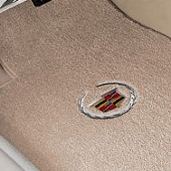 Carpet Mat with Embroidered Cadillac Logo
