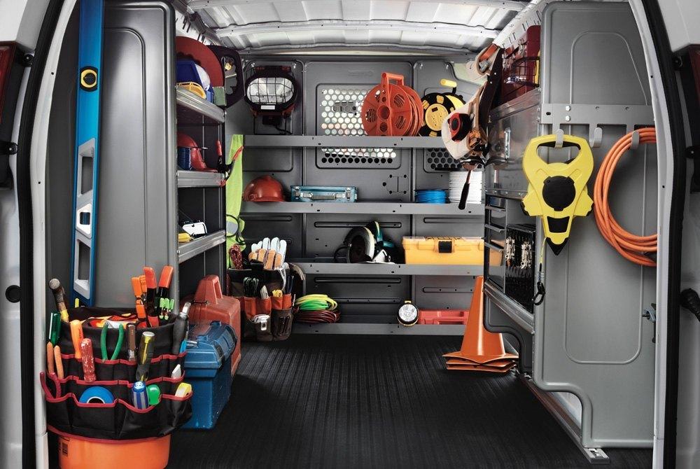 Commercial Van Equipment Shelving Ladder Racks Drawers