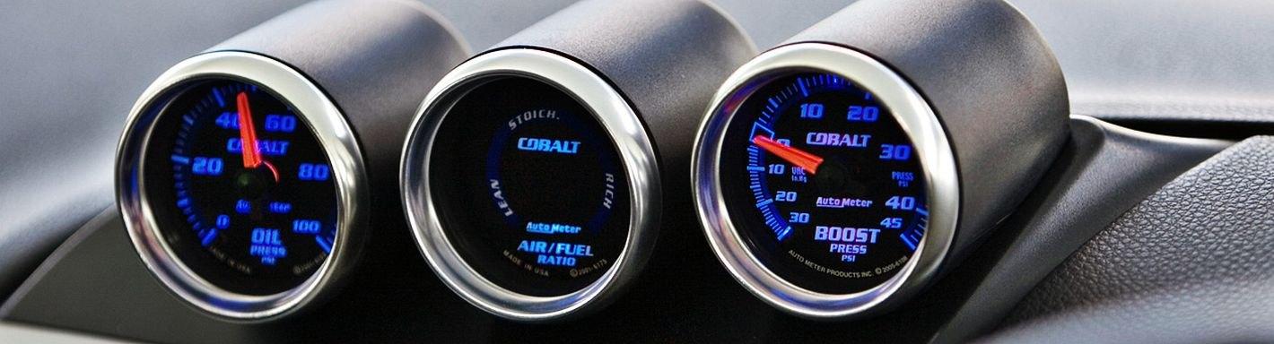 "52mm 2/"" A-Pillar Dual Hole Gauge Pod Dash Meter Mount Bracket Racing Boost Turbo"
