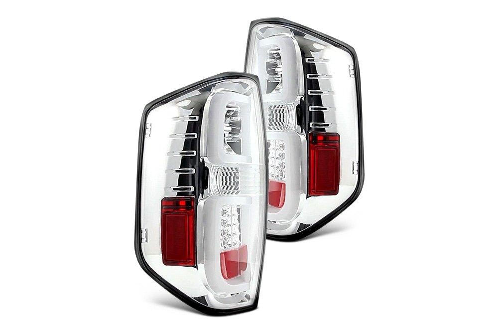 Custom Tail Lights for Cars & Trucks   LED, Black, Euro — CARiD com