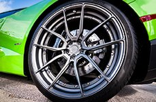 ADV.1 005 mv2 20 inch Wheels on Lamborghini
