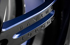 Savini SV1-C Black Blue 20 inch Wheels