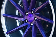 Vossen VVSCVT 20 inch Wheels on Mersedes