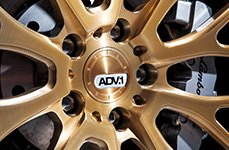 ADV.1 ADV.10-0ts 22 inch Wheels on Lamborghini Gallardo