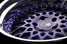 Avant Garde F141 Prism Purple 22 inch Wheels