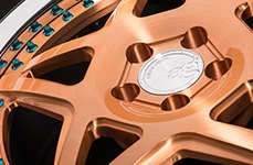 Avant Garde F132 Brushed Copper 26 inch Rims