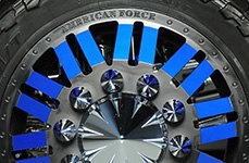 American Force Dually 28 inch Rims on Dodge Ram 3500
