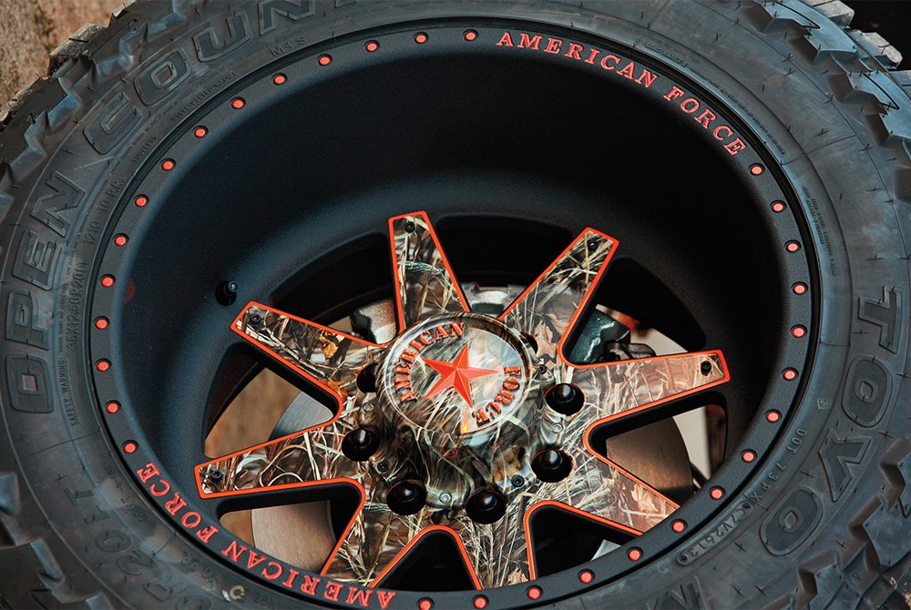 32 Inch Rims Custom 32 Quot Wheel And Tire Packages At Carid Com
