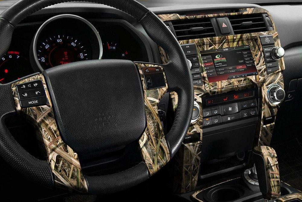 Camo Dash Kit On Panel