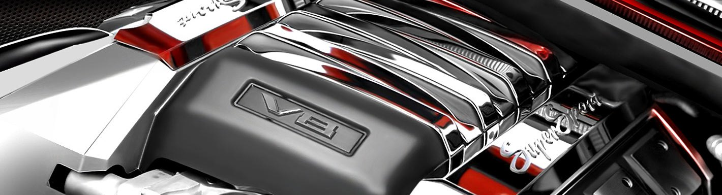 Chevy Corvette Chrome Trim - 2011