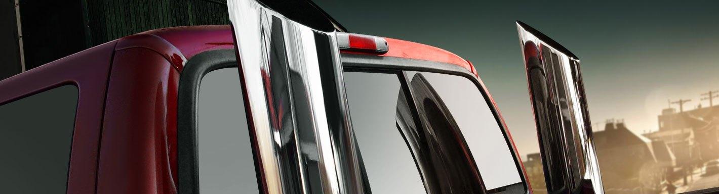"Stainless Miter Cut Diesel Smoker Exhaust Stack 4/"" Inlet 8/"" Tip 36/"" Long F250"