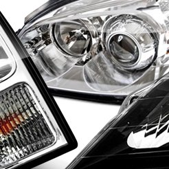 2006 Buick Lucerne Factory Headlights by TYC®
