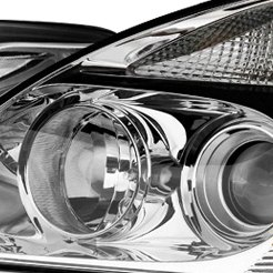 2009 Kia Sedona Factory Headlights by TYC®