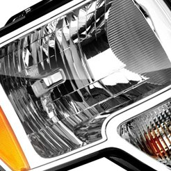 2011 Ford F-150 Factory Headlights by Sherman®