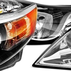 2013 Hyundai Elantra Factory Headlights by TYC®