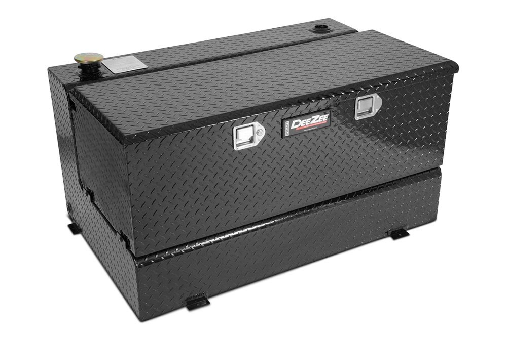 Fuel Tank Tool Box : Truck bed fuel transfer tanks gas diesel auxiliary