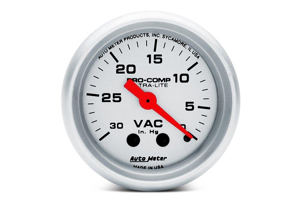 Vacuum & Boost Pressure Gauges — CARiD com