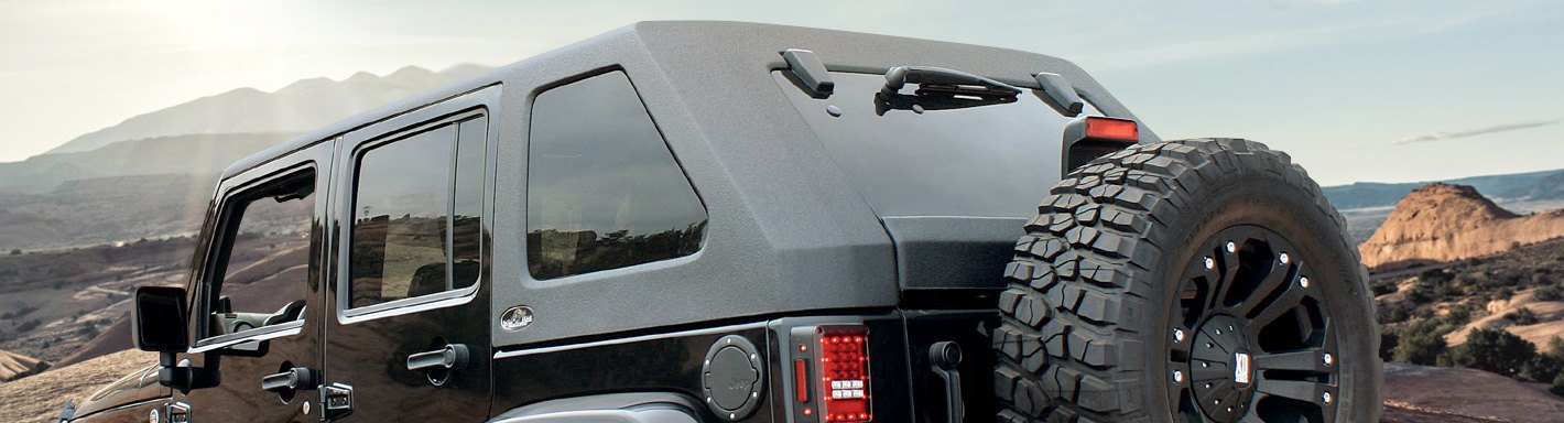 Jeep Wrangler Hard Tops | One-Piece, Two-Piece, Sunroofs