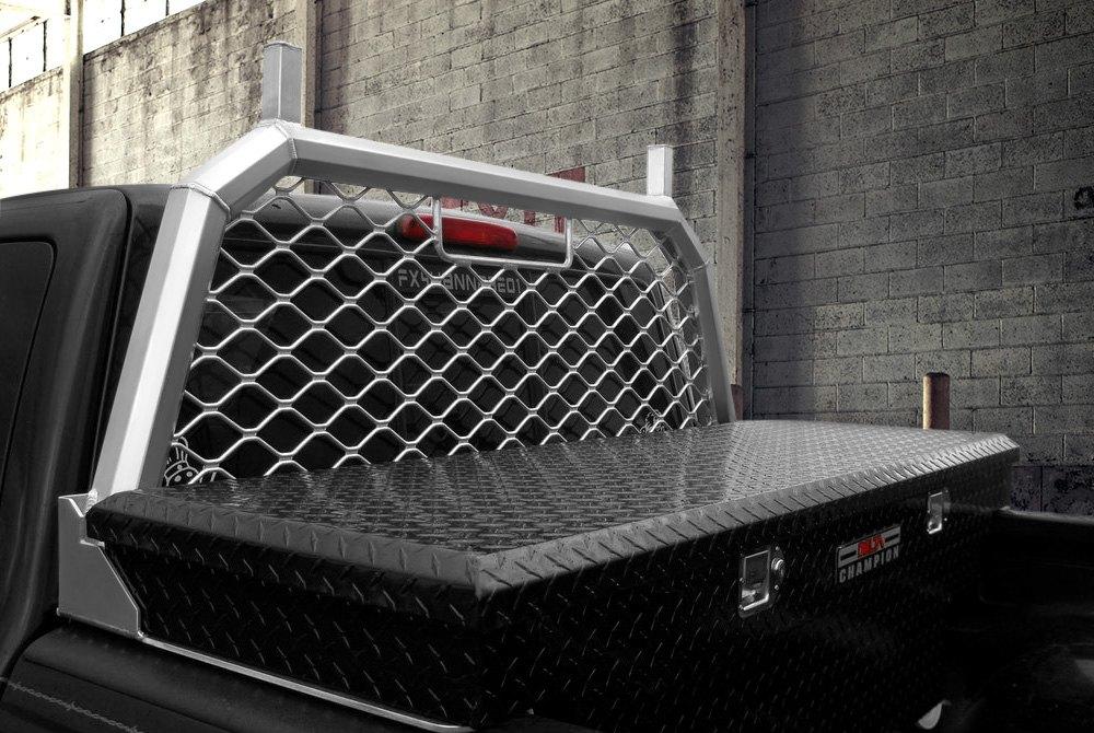 Truck Headache Racks Louvers Mesh Ladder Rack Light