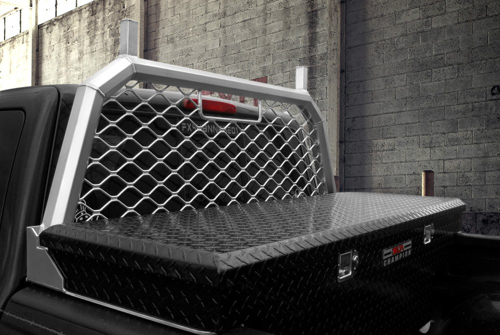 Cool Headache Rack >> Truck Headache Racks | Louvers, Mesh, Ladder Rack, Light Mounts