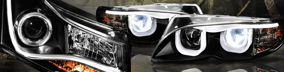 Custom Halo Headlights