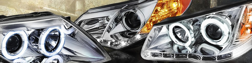 Factory OEM Headlights