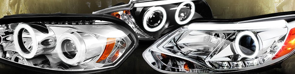Custom Fiber Optic and 3D DRL Headlights